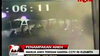 Makhluk Halus Terakam Di-Kamera CCTV  Rumah Sakit Elizabeth Situbondo