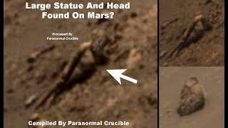 Large Statue And Head Found On Mars?
