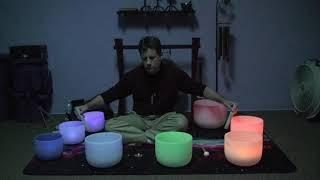 Crystal Singing Bowl Meditation  by Chuck -  Intention:  The Twin Flame Connection