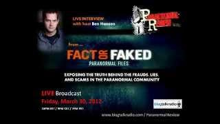 Paranormal Review Radio - Ben Hansen: Exposing Frauds In The Paranormal Community