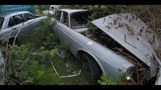 SCARY ABANDONED HORNCLIFFE  MANOR ALONE: JAGUAR GRAVEYARD EXPLORATION.