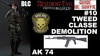 ☣ Resident Evil Operation Raccoon City #10 DLC SPEC OPS Tweed au AK 74