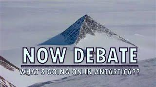 Now Debate | What's happening in Antartica | Wales UFOs | Flat Earth | Black Knight Satellite.
