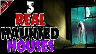 5 CREEPY Real Haunted House HORROR Stories