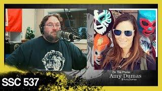 Amy (WWE's Lita) and the Miz discussed UFOs │ SSC 537