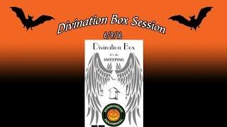 Divination Box Session Using My Mini Portal On 6/9/16