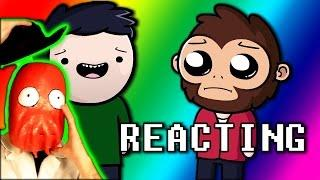 Reaction to Daithi De Nogla LUI's SQUEAKER HOUSE TOUR! - Daithi & Friends Animated