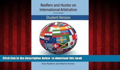 Audiobook Redfern   Hunter on International Arbitration Nigel Blackaby Full Book