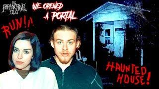 YOU WON'T BELIEVE What Happened To Us ON CAMERA in THIS Haunted House | THE PARANORMAL FILES