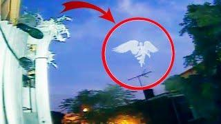 10 Nuevas Apariciones de Angeles Reales Captado en Video