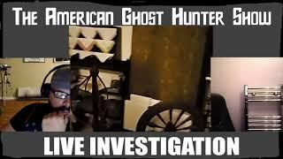 The American Ghost Hunter Show Live At The May Stringer House, FL