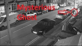 Shocking video: Ghost tries to steal car Caught on CCTV Camera in Japan