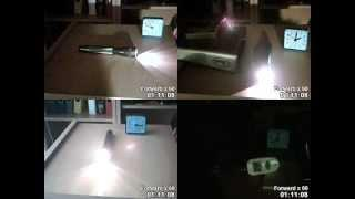 Ghost Hunting Flashlight Trick: Physical Explanation and Experiments