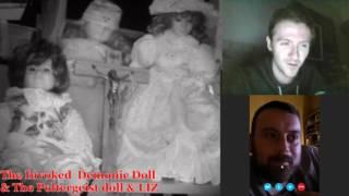 Project Paranormal Facebook LIVE: The Demonic Doll l Poltergeist Doll and Liz with John