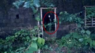 Ghost Caught on Camera From an Old Abandoned Haunted House ! Ghost Attack