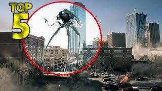 5 REAL ALIVE CGI TRIPODS CAUGHT ON CAMERA & SPOTTED IN REAL LIFE!