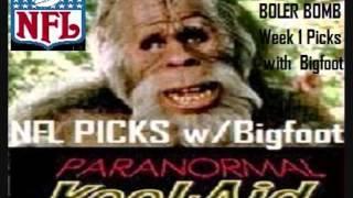 """Bigfoot"" and ""NFL Psychic Boler Bomb"" Week 1 NFL Picks Sept. 4, 2013"