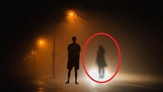 Huge Black Ghost Shadow Caught On Camera From Forest | Ghost Sighting 2017