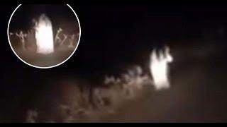 5 Fantasmas de Carretera Captado en Video y Visto en la Vida Real
