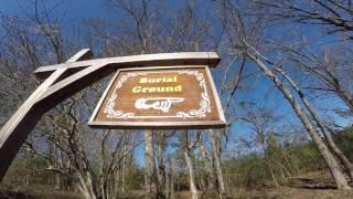 Old Cahawba Ghost Town Burial Grounds Spirit Box and Ovilus Sessions