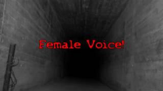DISEMBODIED FEMALE GHOST VOICE EVP CAPTURED AT HALES BAR DAM (FULL INVESTIGATION COMING SOON!)