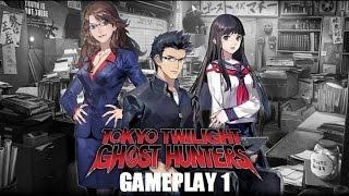 Tokyo Twilight Ghost Hunters PSVITA Gameplay 1 + The Class President