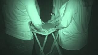 Chelmsford Museum ghost hunt - 27th June 2015 - Table Tilting