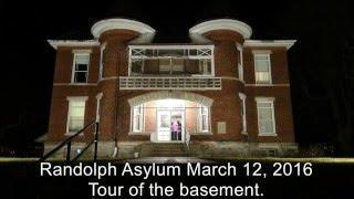 Randolph Asylum - Ghost Hunt Tour Pt. 2 - The Basement...