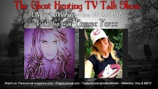 Femme Force - The Ghost Hunting TV Talk Show #12. Paranormal Talk.