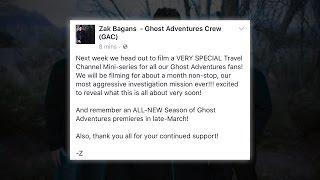 a Mini Series for Ghost Adventures Fans!