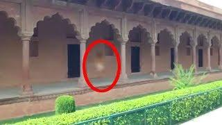 Ghostly Figure and Paranormal Activity Caught on Tape, Real Ghost in Front of College