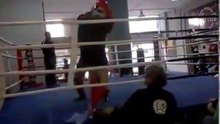 Ερασιτεχνικός αγώνας MMA: Παπαθανασιου(Βόλος) vs Kαγκαρακης (Αθήνα) Αγωνας mma Αειμαχον 14 2 2016