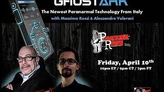 Paranormal Review Radio: GhostArk: Newest Paranormal Technology w/ Alessandro Valerani