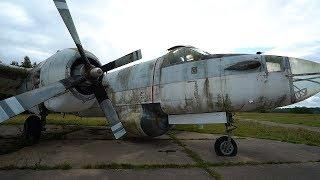 Abandoned Military French Plane Graveyard
