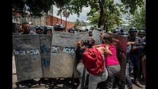 tremendo motin en venezuela / noticias de ultimo momento