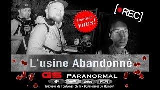 Gs Paranormal : L'usine Abandonnée ☆ Chasseur de Fantômes ☆