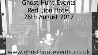 Red Lion Hotel ghost hunt - 26th August 2017 - EVP 1