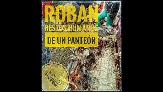 Roban restos humanos de un panteón  en el salto - Jalisco
