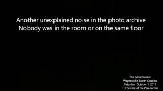 AUDIO-  Another unexplained noise in the photo archive