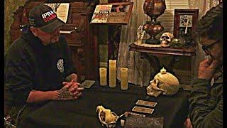 Ghost Hunter Gets A Tarot Card Reading Inside Haunted House