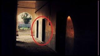 Ghost caught in polce office door? Scary haunting ghost caught video Scary Videos