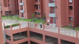 Real Ghost Caught on Tape Ghost following Security Gaurd | Real Paranormal Activity | Scary