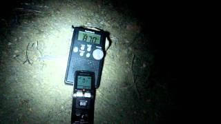 Ghost Box Session In Indian Burial Grounds Night! part 1