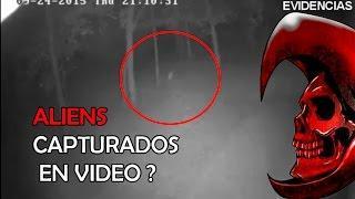 ALIENS SON CAPTADOS POR CAMARA DE SEGURIDAD (¿Sera seral?) @OxlackCastro