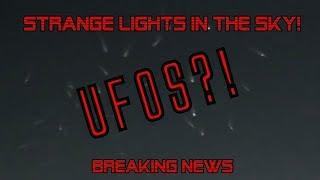 STRANGE LIGHTS CAUGHT ON TAPE IN MILWAUKEE SKIES | UFOs?! ANGELS?! WHAT DO YOU THINK? ALIEN INVASION