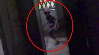 Strange Creature Caught On Tape In An Abandoned House!!