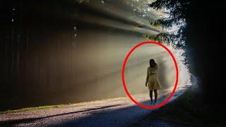 Real Unnatural Light And Ghost Accidentally Caught On Camera!!