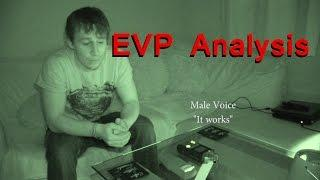 EVP Analysis - Real Paranormal Activity Part 22.1