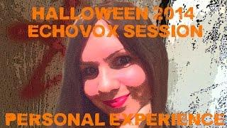 Halloween 2014 Echovox Session with Sadie... Afterwards!