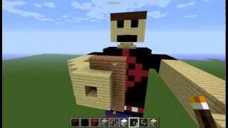 Minecraft SV-1 SpiritVox world. By Gabriel Roberge